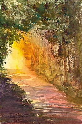 Into The Light Art Print by Frank SantAgata
