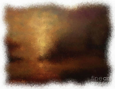 Digital Art - Into The Light by Jim Hatch
