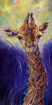 Art That Makes You Smile Wall Art - Painting - Into The Light Oil Painting By Kim Guthrie by Kim Guthrie