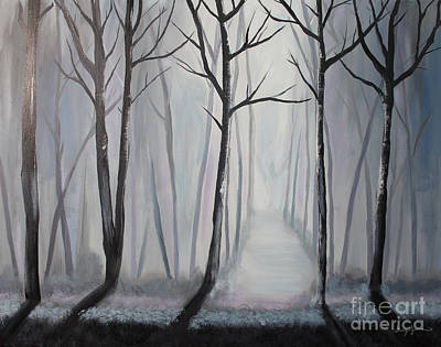 Painting - Into The Light by Stacey Zimmerman