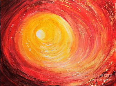 Into The Light Art Print by Teresa Wegrzyn