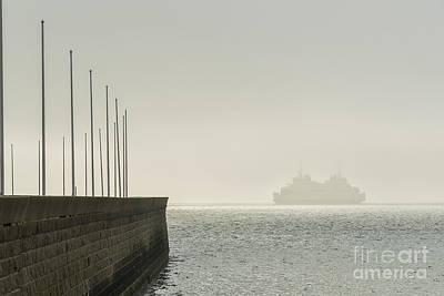 Helsingborg Photograph - Into The Mist by Antony McAulay