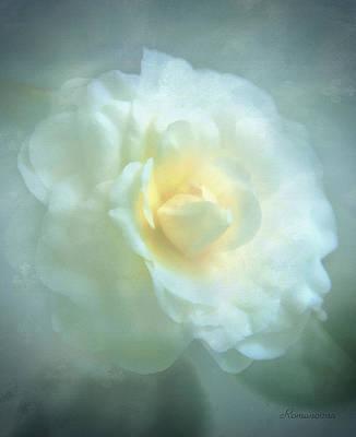 Mixed Media Royalty Free Images - Into The Mist Royalty-Free Image by Georgiana Romanovna