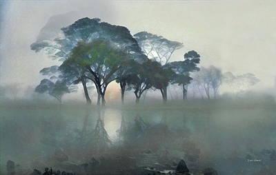 Watercolor Art Digital Art - Into The Mist by Russ Harris
