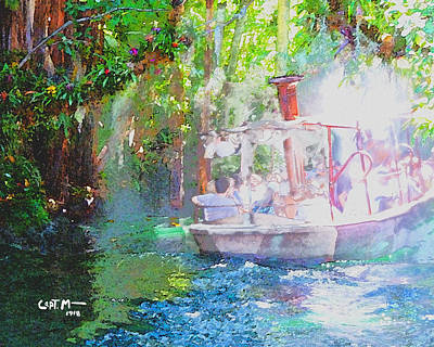 Photograph - Into The Mist-wc by Mickey Wright