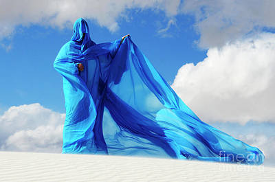 Lady In Blue Photograph - Into The Mystic 29 by Bob Christopher