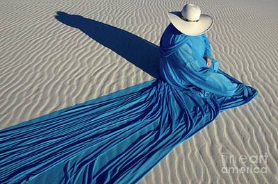 Lady In Blue Photograph - Into The Mystic 30 by Bob Christopher