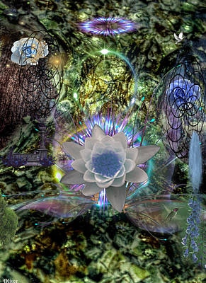 Mixed Media - Into The Mystic Revisited by Bill Oliver
