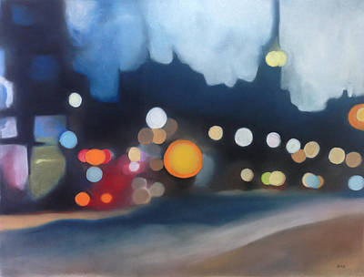 Pastel - Into The Night by Carrie Diaz