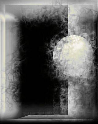 Digital Art - Into The Night by John Krakora