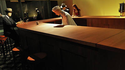 Quadro Photograph - Into The Nighthawks by Marcello Valeri