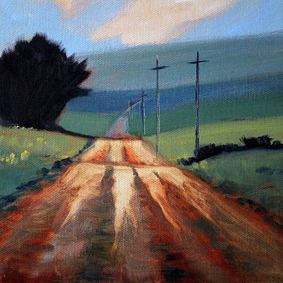Painting - Into The Palouse by Nancy Merkle
