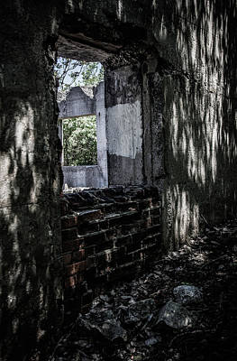 Photograph - Into The Ruins 4 by Melissa Lane