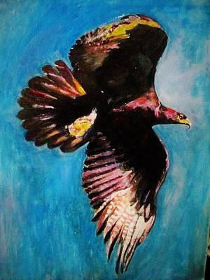 Into The Skies. Original by Khalid Saeed