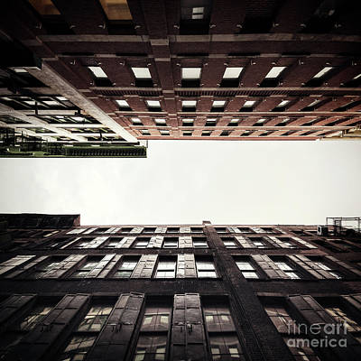 City Scenes Royalty-Free and Rights-Managed Images - Into The Sky by Evelina Kremsdorf