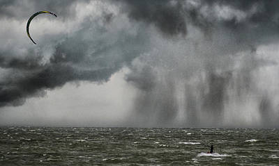 Watersports Wall Art - Photograph - Into The Storm by Martin Newman