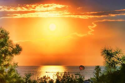 Photograph - Into The Sun by Nadia Sanowar