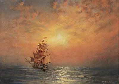 Into The Sunset Original