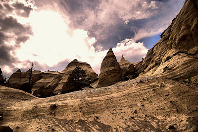 Photograph - Into The Tent Rocks by Jeff Swan