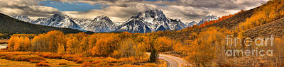 Photograph - Into The Tetons by Adam Jewell