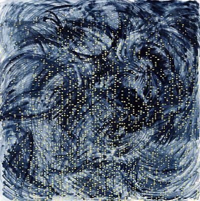 Into The Universe Art Print by Joan De Bot