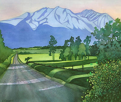 Painting - Into The Valley by Anne Havard