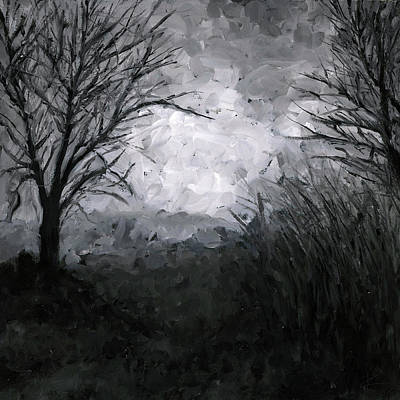 Depression Painting - Into The Void 6 by Christian Klute