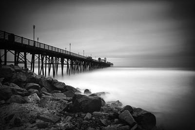 Black And White Photograph - Into The Void by Larry Marshall
