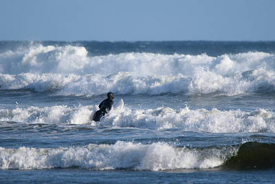 Photograph - Into The Waves by Keith Boone