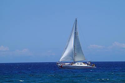 Photograph - Into The Wild Blue Ocean by Pamela Walton