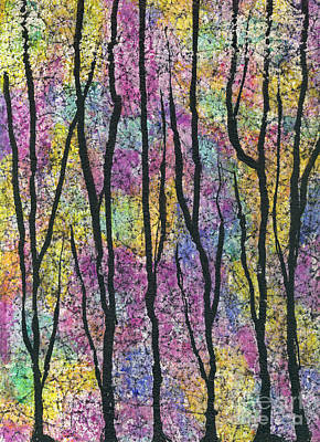 Mixed Media - Into The Woods by Cyndi Lavin