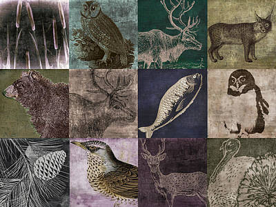 Studio Grafika Zodiac - Into the Woods by Mindy Sommers