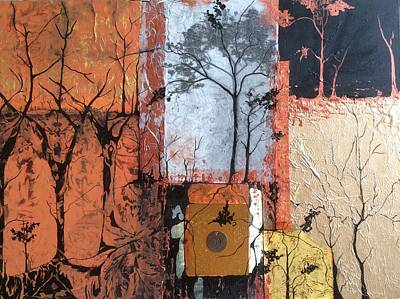 Mixed Media - Into The Woods by Pat Purdy