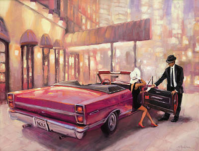 Henderson Wall Art - Painting - Into You by Steve Henderson