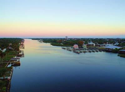 Photograph - Intracoastal Rainbow Sky by Cheryl Waugh Whitney