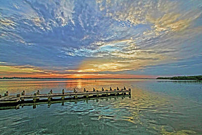 Photograph - Intracoastal Sunrise by HH Photography of Florida