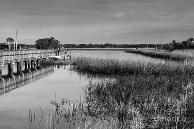 Photograph - Intracoastal View by Diane Macdonald