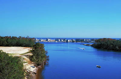 Photograph - Intracoastal Waterway - Wilmington North Carolina by L O C