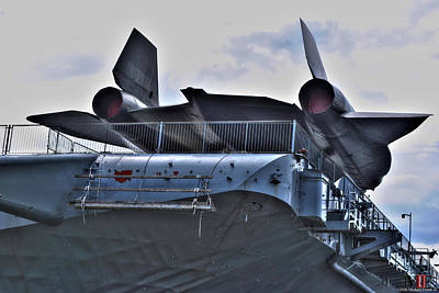 Photograph - Intrepid Aircraft Carrier by Michael Frank Jr