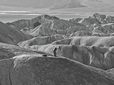 Photograph - Intrepid Death Valley Photographer by Frank DiMarco