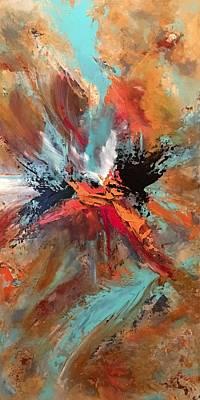 Painting - Intrepid by Soraya Silvestri