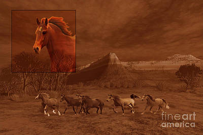 Stone Pony Painting - Intrepid Spirit by Corey Ford