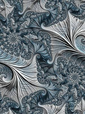 Digital Art - Intricate And Beautifully Twisted by Elizabeth McTaggart