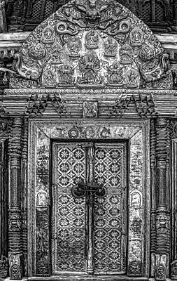 Photograph - Intricate Door by Maria Coulson