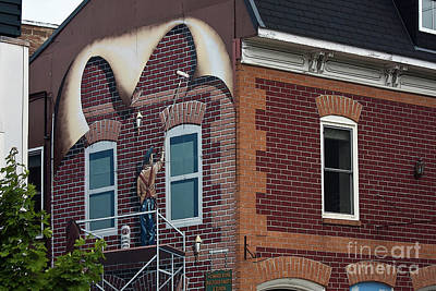 Photograph - Intriguing Mural Art In Smith Falls, Ontario by Tatiana Travelways