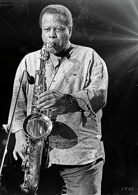 Photograph - Introducing Wayne Shorter  by Jean Francois Gil