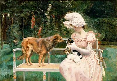 Sniffing Painting - Introductions by Charles Henry Tenre