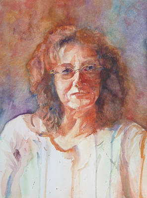 Introspective Painting - Introspective by Melanie Harman