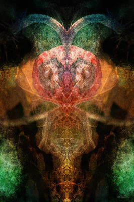 Conscious Digital Art - Introverted by WB Johnston