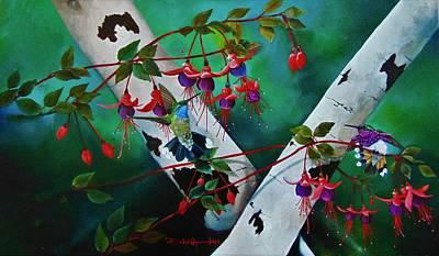 Painting - Intruder Alert by Dana Newman